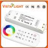 Regolatore della luminosità senza fili del regolatore LED di rf 2.4G RGB per l'interiore domestico