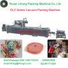 Voll automatische kontinuierliche frische Fisch-vakuumverpackende Maschine der Ausdehnungs-Dlz-320