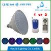 Lâmpada Recessed luz da piscina do diodo emissor de luz da associação de E27/E26 PAR56swimming