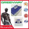 Peptides chimiques pharmaceutiques Hexarelin Hexarelin stéroïde pour le supplément de culturisme