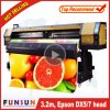 A impressora larga ao ar livre grande do formato de Funsunjet Fs-3202g 3.2m/10FT do disconto com dois Dx5 dirige 1440dpi para a impressão da etiqueta do vinil