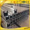 6063t5 de Uitgedreven Omheining van de Deklaag van het Poeder van de Legering van het aluminium Aluminium