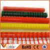 Barriera di sicurezza di plastica arancione della barriera d'avvertimento di obbligazione dell'azienda agricola