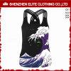 Aangepaste Modieuze Goedkope Mouwloos onderhemden Activewear voor Vrouwen (eltci-64)