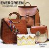 2017人の方法によって散りばめられる女性の袋Designer Handbag Emg4768広く多彩なストラップの本革のハンド・バッグの女性