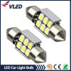 Lâmpada LED Festoon, Auto Bulb, 10-30VDC, 6SMD Festoon LED Lights Car