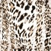 De Polyester Afgedrukte Stof van uitstekende kwaliteit van de Perzik van de Wol van de Stof (kqc-039)