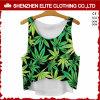 Kundenspezifische Drucken-Qualitäts-Fantasie-Unterhemd-Frauen (ELTVI-37)