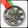 上販売法のリボンが付いているカスタム3Dスポーツメダル