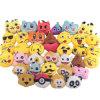 36 Stuk speelgoed van de Pluche Emoji van de Decoratie Keychain van het pak het Mini Mini