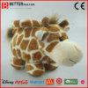Giraffe molle de jouet de peluches matérielles sûres