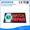 Muestra impermeable de la reparación LED del reloj del rectángulo de Hidly