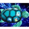 Luz crepuscular de la noche de la constelación de la tortuga de mar (SX513)