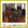 Stone naturale Polished Black Angola Granite Countertop per Kitchen/Bathroom (YQC)