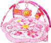 아기 장난감 매트 - 분홍색 꽃