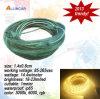 azul blanco RGB 60LED/Meter (SFS5050-60ww-220V) de Warmwhite 5050 LED de la tira de 110V-220V de la cuerda de la luz brillante estupenda flexible impermeable de alto voltaje de la cinta