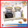 Wooden Spoon及びWooden Rackの2PC Glass Spice Jar