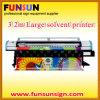 10ft Wide Digital Plotter (testa dei seiko, stampante solvibile della tela di canapa)