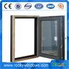 Ventana de madera compuesta de aluminio diseño caliente de la venta del nuevo