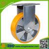 Örtlich festgelegte Fußrolle mit Aluminiumkern PU-Rad