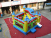 Kinderen die het Opblaasbare Bouncy Kasteel van het Bed Chb202 springen