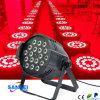 5 en 1 Rgbwauv 18 * luz del disco de la luz de la IGUALDAD de 10W LED