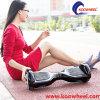 Autoped Hoverboard van het Controlemechanisme van de Spreker van Bluetooth van de Goedkeuring van Ce de Verre Elektrische