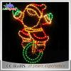 Indicatore luminoso di festa delle decorazioni di natale della scultura del LED il Babbo Natale