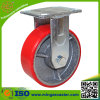 鋳鉄のコア車輪の足車のポリウレタン