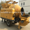 15 M3/H Concrete Mixer con Delivery Pump (CPM15)