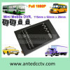 1080P 4 Camera Mobile DVR para Vehicle Car Bus Taxi Truck Monitoring