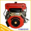 Motor diesel del cilindro de la inyección refrigerada vertical doble de la dirección