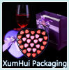 Rectángulo hermoso/de papel de Box/Heart-Shape/Purple/Bow Tie/Gift Box/Chocolate