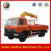 10 Ton XCMG Crane (straighアーム)のDongfeng Truck