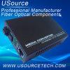 convertidor de los medios de la fibra del 10/100m en el equipo óptico de fibra
