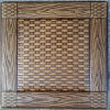Панель стены PU роскоши 3D кожаный для украшения (HS-MK004)