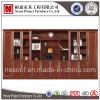 Gabinete de arquivo de madeira da biblioteca do armazenamento da mobília do folheado (NS-SL143)