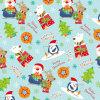 Papel de tejido promocional de la impresión de la Navidad