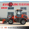 Everun Hydraulic 2 Ton Compact Loader con Mixer Bucket