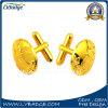 Подгонянные промотированием Cufflinks эмали с золотом плакировкой