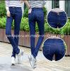 Los pantalones vaqueros del dril de algodón de la manera de las mujeres de la buena calidad venden al por mayor