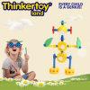 DIY scherzt menschliches Form-Baumuster-Ausbildungs-Plastikspielzeug Puzzlespiel
