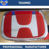 A liga personaliza o logotipo principal do carro do emblema da etiqueta
