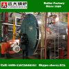 Wns 0.5-6 Toneladas Combustible Dual Gas y Gas Calderas Para la Industria de Molinos de Alimentación