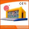 قابل للنفخ رياضة لعبة كرة قدم هدف مع قابل للنفخ ييقفز سرير ([ت9-204])
