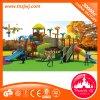 Großes im Freienspielplatz-Vergnügungspark-Plastikschauspielhaus