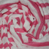 100%Polyester raya de lino falsa Jersey