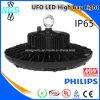 éclairage élevé de compartiment d'UFO d'éclairage LED de 120lm/W IP65