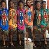 Dashiki kleedt Traditionele Afrikaanse Abaya voor Vrouwen (A940)