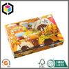 Цветастая коробка 4 угловойых Donuts качества еды установки бумажная упаковывая